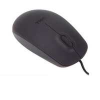 DELL戴尔 MS111 USB光电鼠标 制作细 手觉舒适平滑(黑色)