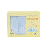 全棉时代婴儿宝宝纯棉纱布浴巾新初生婴幼儿吸水毛巾洗澡儿童被子