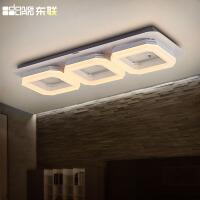 东联现代简约LED吸顶灯餐厅吊灯客厅灯餐厅灯创意酒吧台灯饰灯具D295