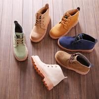 工装户外马丁靴复古文艺机车靴休闲系带短靴情侣大头靴 加棉