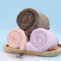 优家(UPLUS)柔软加厚珊瑚绒干发帽(颜色随机 洗头帽 吸水干发巾 吸水浴帽)