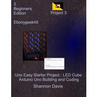 预订 Uno Easy Starter Project: Led Cube: Arduino Uno Building