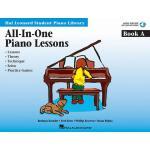 【预订】All-In-One Piano Lessons Book a: Book with Audio and MI