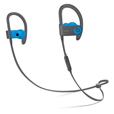 [当当自营] Beats Powerbeats3 by Dr. Dre Wireless 入耳式耳机 电光蓝 MNLX2PA/A支持礼品卡支付 正品国行 全国联保