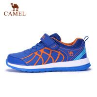 camel骆驼男童女童中大童跑步鞋运动网面舒适透气休闲童鞋