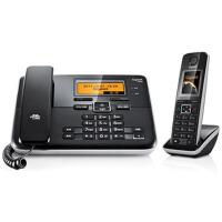 集怡嘉(Gigaset) 西门子C810 2.4GHz数字无绳电话机子母机(钢琴黑)彩屏