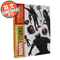 漫威电影宇宙图解百科 英文原版 Marvel Studios Visual Dictionary 人物设定 装备解析