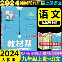 初中教材帮九年级下册语文数学英语3本套装人教版2020版