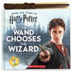 哈利波特英文原版 魔杖施法发声书 Harry Potter The Wand Chooses the Wizard