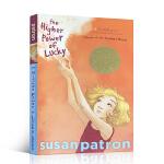 顺丰发货 英文原版进口小说 乐琦的神奇力量 The Higher Power of Lucky 纽伯瑞金奖 培养孩子学