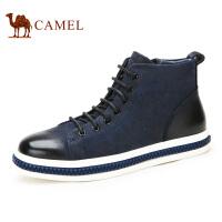 camel骆驼男靴 秋冬新款 磨砂牛皮短靴 男士潮流皮靴 男靴子