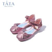 【3折价:134.4元】他她TATA女童皮鞋2020春季新款冰雪奇缘公主鞋中童演出单鞋水晶鞋女