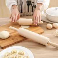 擀面杖 滚轴实木饺子皮家用神器大号烘焙工具擀面棒赶杆擀面棍杖
