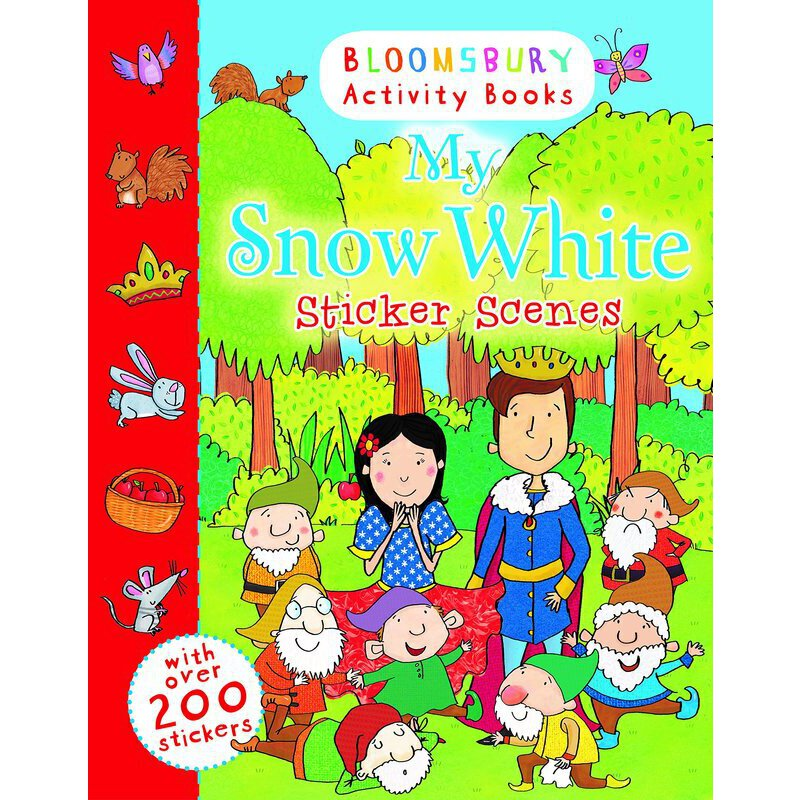 Bloomsbury Activity Books: My Snow White Sticker Scenes    ISBN:9781408847466