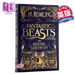 【中商原版】神奇动物在哪里 英文原版小说剧本 英文版 英文原版书 哈利波特 Fantastic Beasts 英国版剧