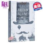 【中商原版】环游世界80天 英文原版文学 英文版 英文原版书 Signet Classics:Around the W