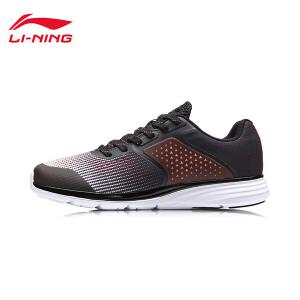 李宁跑步鞋女鞋光耀减震透气轻便防滑情侣鞋低帮运动鞋ARHM108