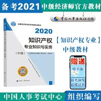 备考2021经济师中级 知识产权专业知识与实务(中级)2020 中国人事出版社