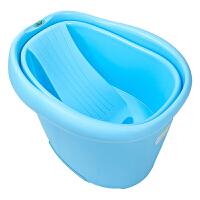 幼蓓Ubee 婴儿浴盆宝宝洗澡盆儿童沐浴桶可坐躺洗澡桶新生儿用品