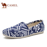 camel骆驼男鞋 新款时尚休闲清爽舒适帆布鞋男渔夫布鞋