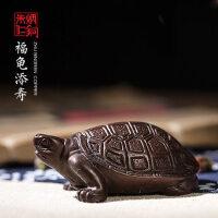 福龟添寿 朱炳仁铜 铜摆件 铜龟艺术品 工艺品 礼品