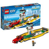 [当当自营]LEGO 乐高 城市系列 汽车摆渡船 积木拼插儿童益智玩具 60119