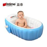 2018新款 商品婴儿充气折叠浴盆游泳池洗澡盆 Baby bath 98*64*28CM