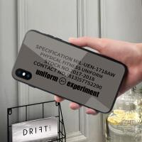 日系原宿闪电苹果6plus手机壳iphone8简约保护套6新款xs max玻璃7创意全包6s个性情侣8plus男xr时