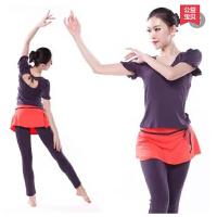 新款瑜伽服套装健身服舞蹈服装莫代尔面料含胸垫套装女 可礼品卡支付