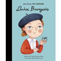 小女孩,大梦想:路易丝・布尔乔亚 英文原版 精装绘本 名人传记 Louise Bourgeois Little Peop