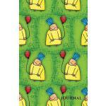 预订 Journal: Lined Notebook or Diary, Balloons, Kids, Fun, G