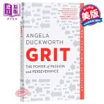 【中商原版】坚毅 英文原版 Grit: The Power of Passion and Perseverance 进