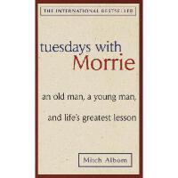 英文原版 相约星期二 Tuesdays with Morrie