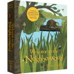 英文原版 Welcome to the Neighborwood Pop-Up 立体书 动物自然科普绘本 点灯人出品