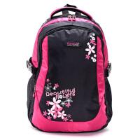 卡拉羊 女双肩包 韩版背包 休闲旅行包 中学生小学生书包 C5349
