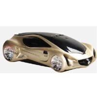 路奈 奔驰A3概念车 流动固定测速一体机 雷达 电子狗预警仪银色