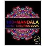 预订 100+ Mandala Midnight Edition: Adult Coloring Book 100 M