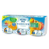 【当当自营】亨氏 Heinz混合蔬果泥套餐(优惠套装D)113g*3(7至36个月)(利来国际ag手机版电话:010-5799256