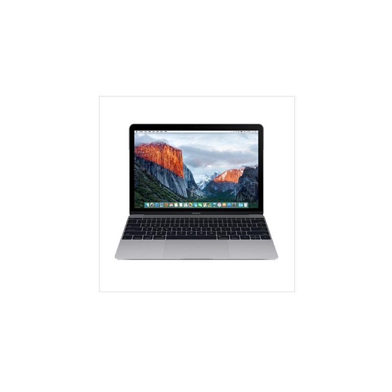 Apple 苹果 MacBook MLH72CH/A 12英寸 深空灰 笔记本电脑 - 双核 Intel Core m3 处理器/1.1GHz /8G/256GB 2016款 MLH72CH/A 轻于时代,先于时代