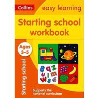 【预订】Starting School Workbook: Ages 3-5
