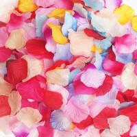 儿童婚庆求婚用品结婚喜庆装饰婚房新房布置婚礼装扮仿真玫瑰花瓣