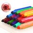 弥鹿(MiDeer)水彩笔儿童安全可水洗易清洁锥形头美术绘画涂鸦水溶性水彩笔