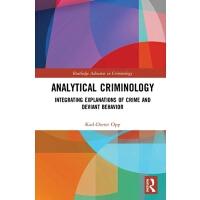 【预订】Analytical Criminology 9780367086664