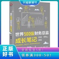 世界500强财务总监成长笔记 刘冬 财务管理方法 管理经验 工作技巧 财务成本管理 报表分析 企业财务管理报表解读 财