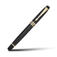 正品 英雄钢笔 7032黑丽雅铱金笔(明尖) 英雄墨水笔