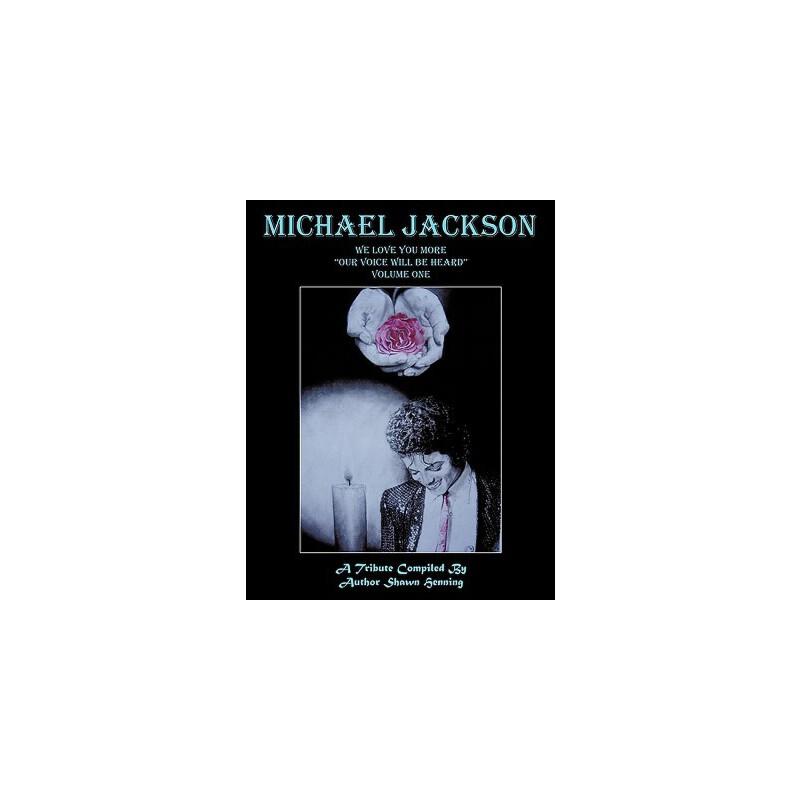 """【预订】Michael Jackson: We Love You More """"Our Voice Will Be Heard"""" Volume One 预订商品,需要1-3个月发货,非质量问题不接受退换货。"""
