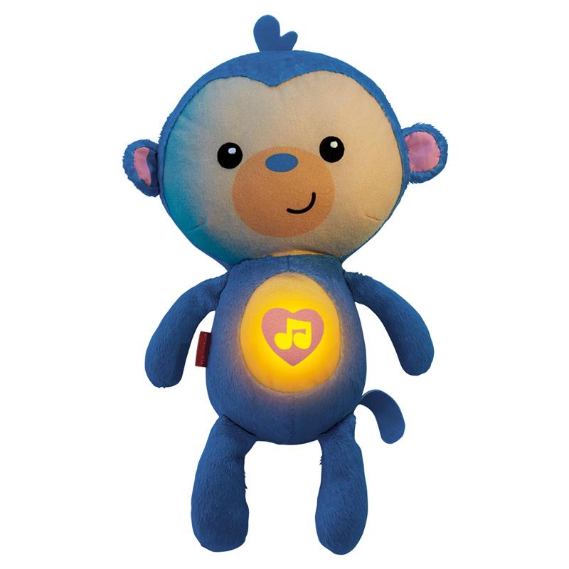 [当当自营]Fisher Price 费雪  声光安抚小猴子 新生儿玩具 CDC64 【当当自营】适合新生儿 睡眠安抚玩具