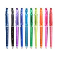 日本百乐FRIXION摩擦笔彩色可擦水笔0.4中性笔10色选LF-22P4
