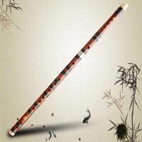 奇宝居 竹笛子乐器 笛子初学 F调横笛子两节赠笛膜