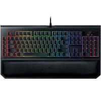 雷蛇(Razer)黑寡妇蜘蛛幻彩版V2 RGB游戏机械键盘 黑色绿轴 黑寡妇第二代RGB机械键盘
